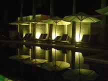 Pool at night, Phu Quoc, Vietnam