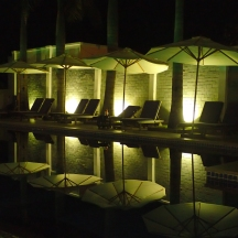 Pool at night, Phu Quoc, Vietnam