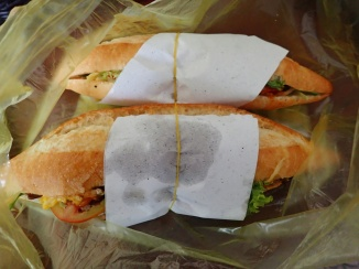 Banh mi sandwiches from Banh Mi Phuong, Hoi An, Vietnam