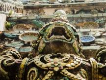 Demon, Wat Arun, Bangkok, Thailand