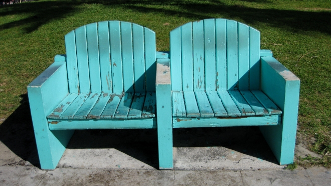 South Beach Bench