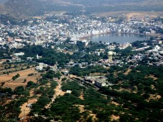 View from Savitri Temple, Pushkar, India