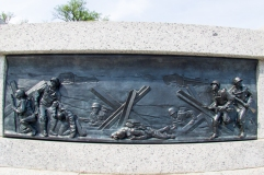 Bas-relief of D-Day