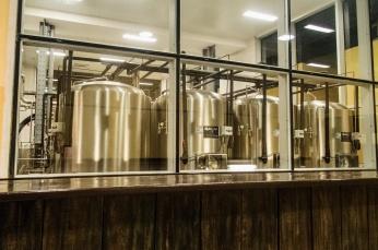 Beer vats at Antiguo Almacén de la Madera y el Tabaco