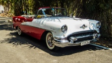 Mid 1950s Oldsmobile convertible