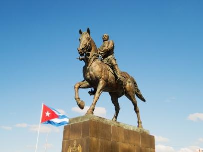 Statue honoring Calixto García Iñiguez