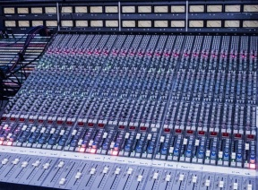 Multitrack mixing console, Abdala Recording Studios