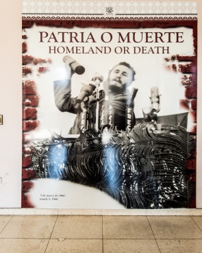 Poster of Fidel Castro, Museum of the Revolution