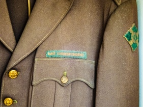 Hemingway's war correspondent's jacket