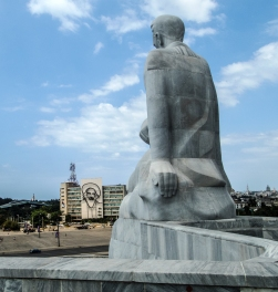 Memorial to Cuban hero José Martí in Revolution Square