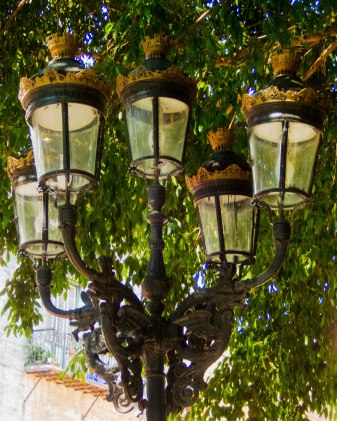 Lamp post, Plaza de Armas