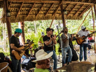 Musical performance at Las Terrazas