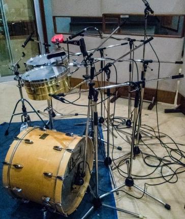 Percussion set, Abdala Recording Studios