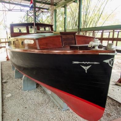 Hemingway's boat Pilar