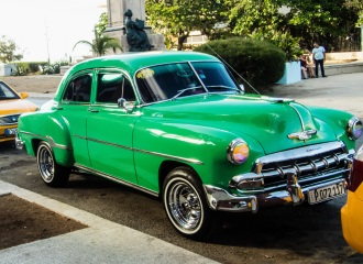 1952 Chevy 4-door sedan