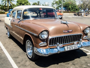 Chevy 4-door sedan