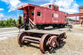 An old caboose