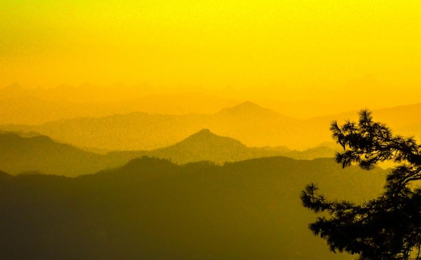 Dawn over Himalaya