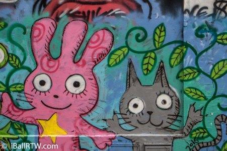 Rue Dénoyez Street Art