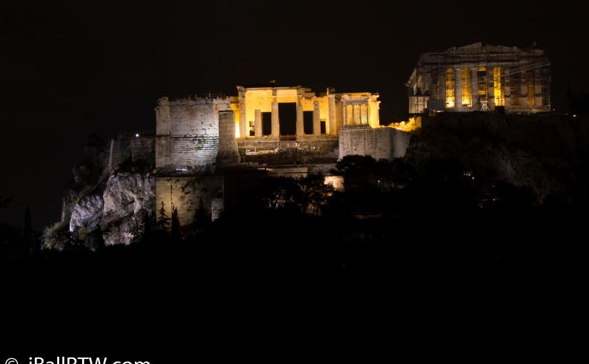 The Acropolis ofAthens