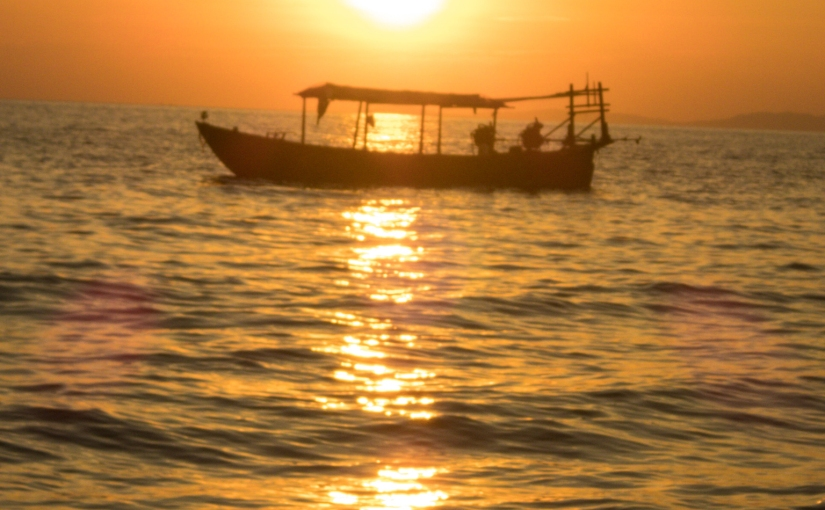Otres Beach Sunset