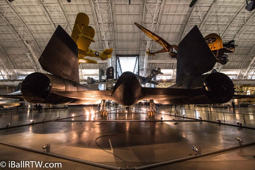The SR-71 Blackbird atUdvar-Hazy