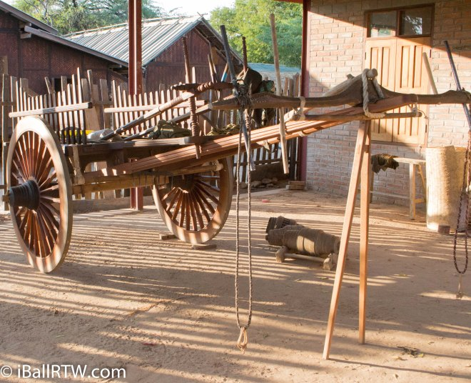 iBallRTW wooden cart