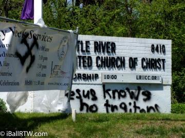 Church Vandalism