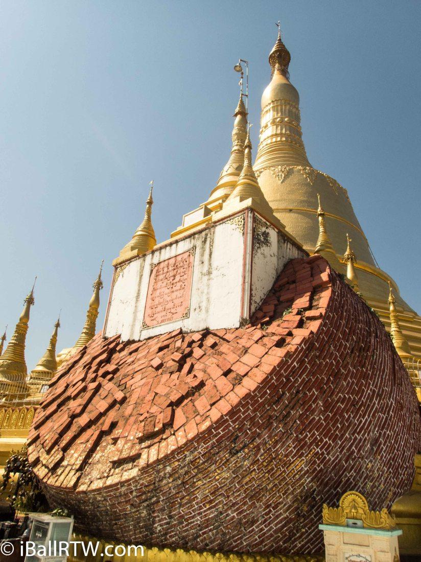 Shwemawdaw Pagoda –Broken