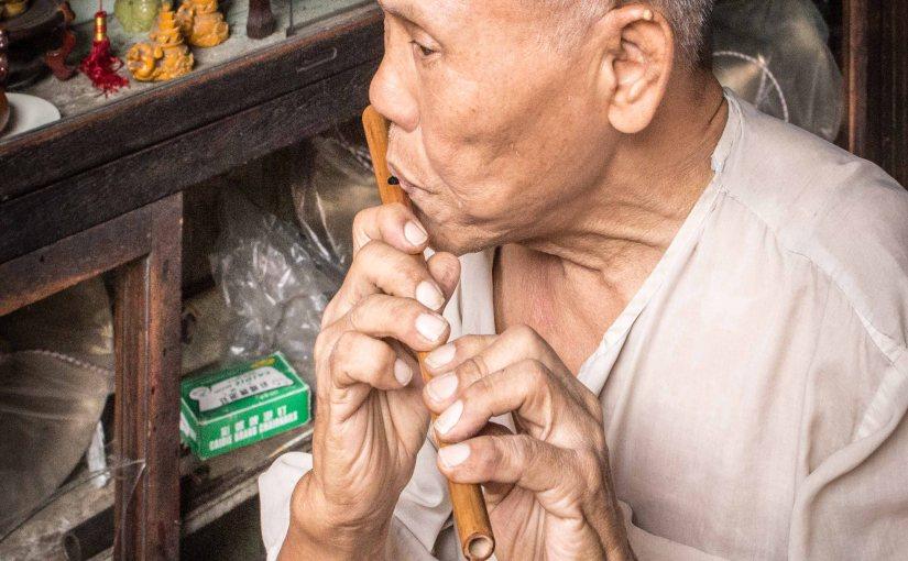 Bangkok Flute Player