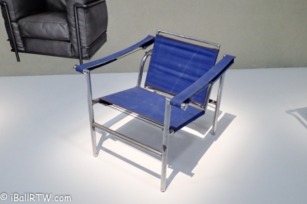 Le Corbusier LC1 Chair (Basculant)