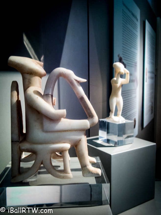 Early Cycladic Harpist and Flutist