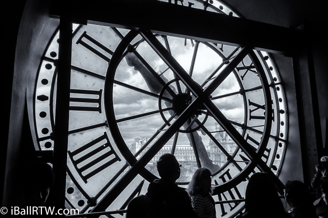 Musée d'Orsay Tower Clock