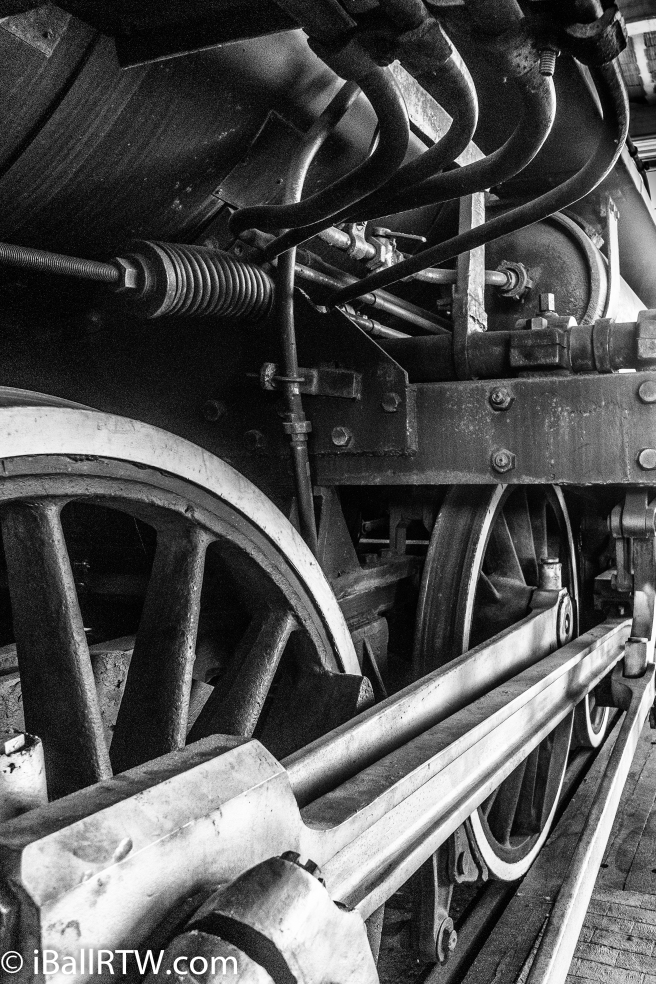 Steam Locomotive Driving Wheels