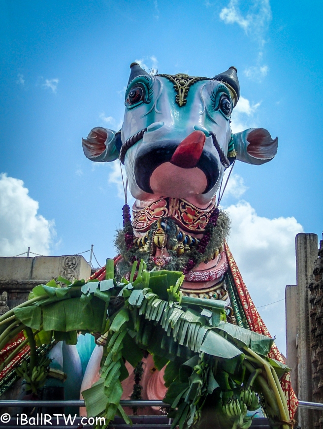 Nandi Statue, Sri Meenakshi Temple, Madurai, India