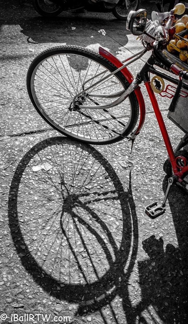 Bangkok Fruit Seller's Bicycle