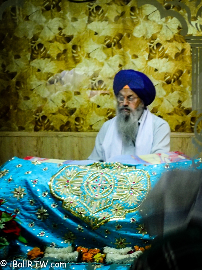 Evening Recitation over the Sri Guru Granth Sahib