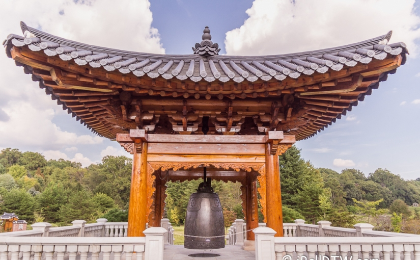 Korean Bell at Meadowlark Gardens