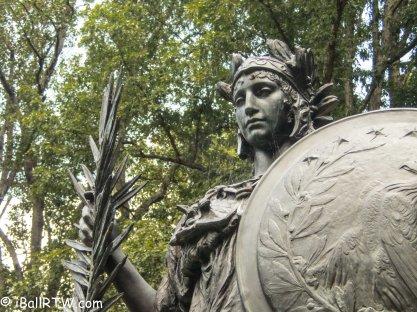Athena, detail