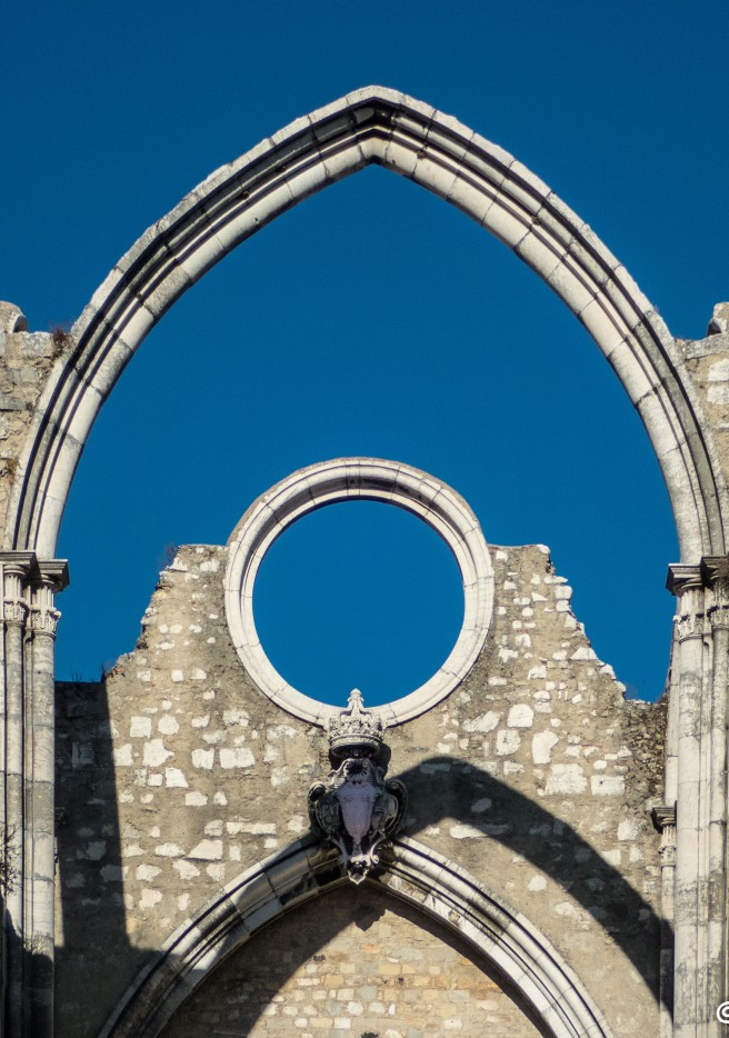 The Rose Window of the Carmo Convent