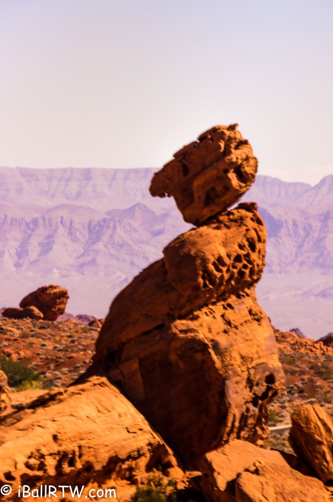 Valley of Fire Balancing Rock