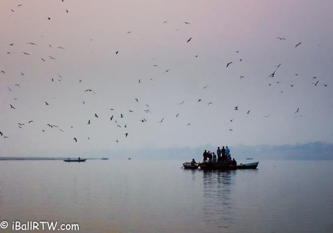 Sunrise Cacophony on the Ganges