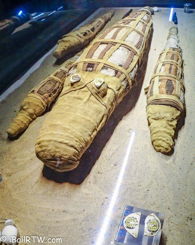 Wrapped Crocodile Mummies at Kom Ombo