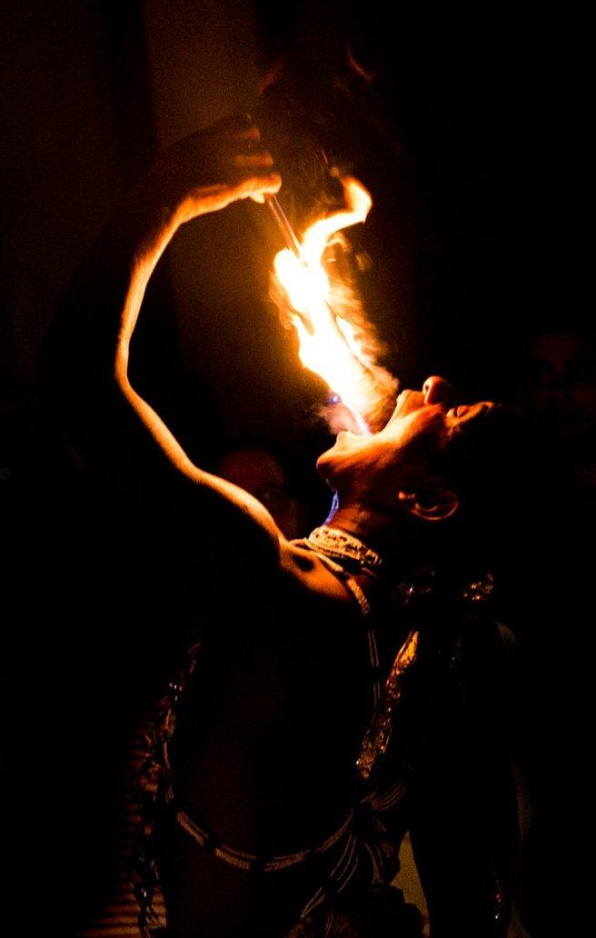 Kandyan Fire Eater