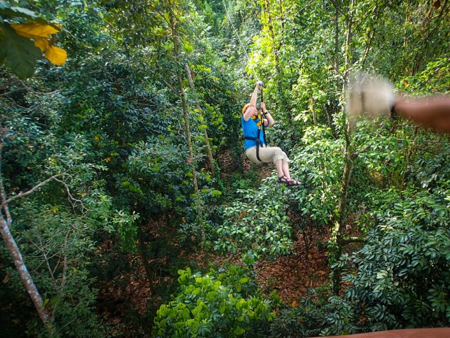 Flying Hanuman Zipline