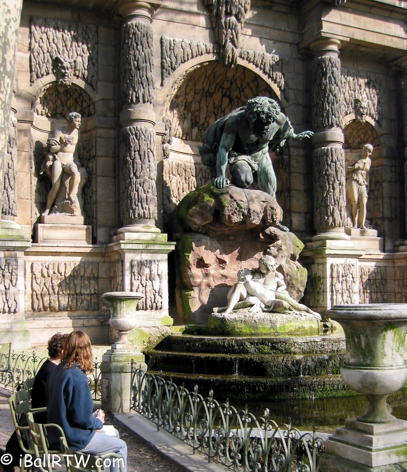 Favorite Place to Visit: the Medici Fountain in the Luxembourg Gardens