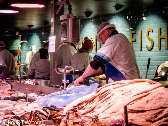 The English Market in Cobh, Ireland