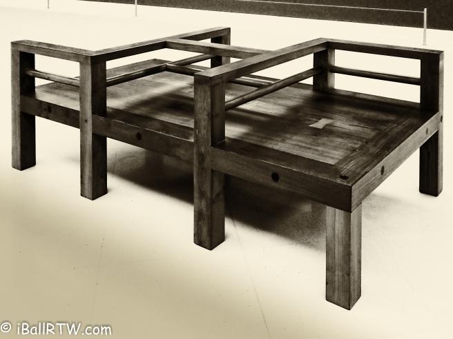 Bench in MOCA