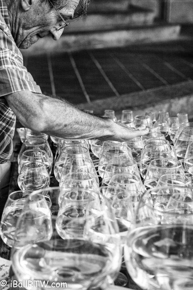 Jamey Turner Playing his Glass Harp