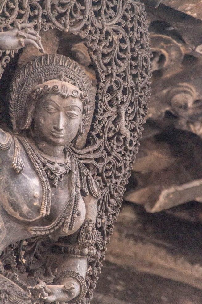 Chaste Maiden at Chennakesava Temple